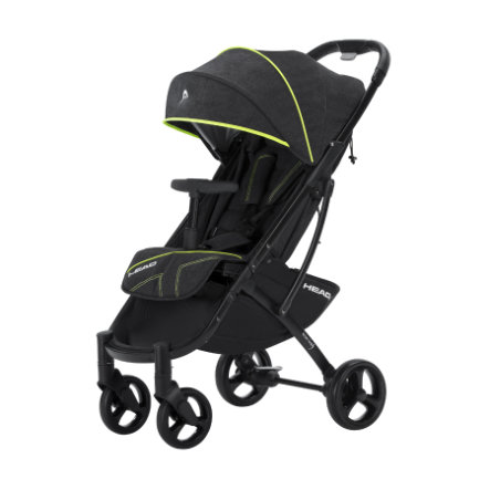 knorr-baby Buggy HEAD darkgrey-yellow