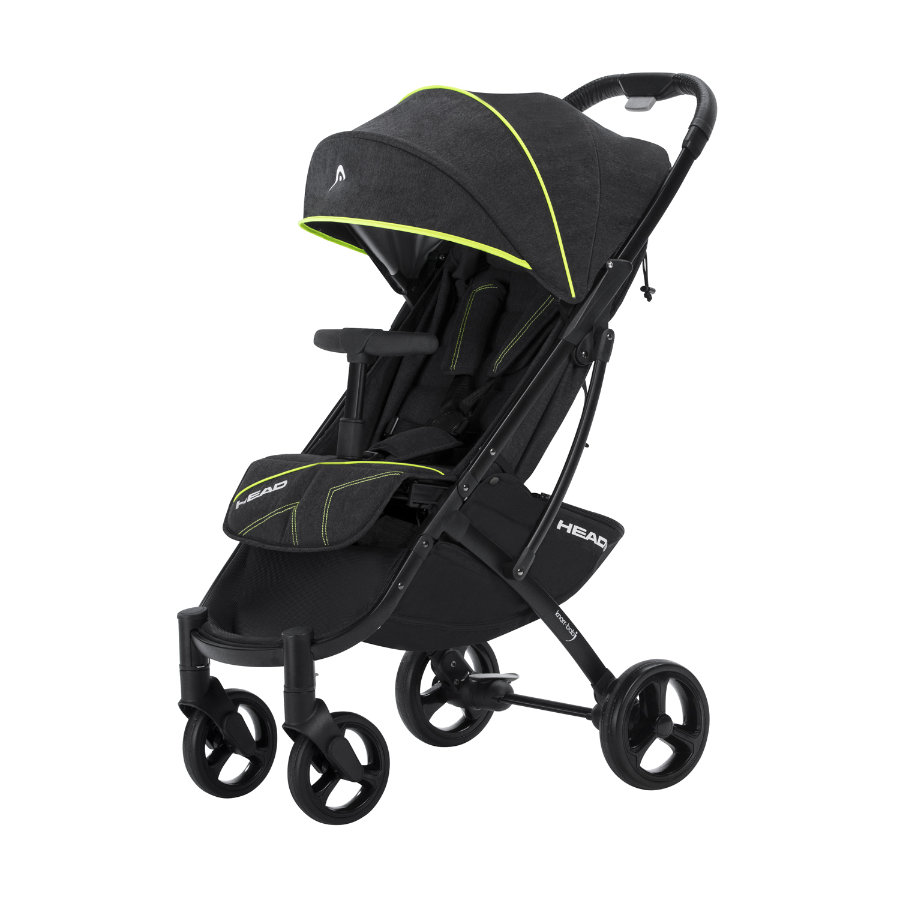knorr baby buggy head darkgrey yellow baby. Black Bedroom Furniture Sets. Home Design Ideas