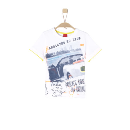 s.Oliver Boys T-Shirt blanco