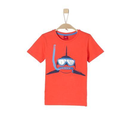 s.Oliver Boys T-Shirt czerwień
