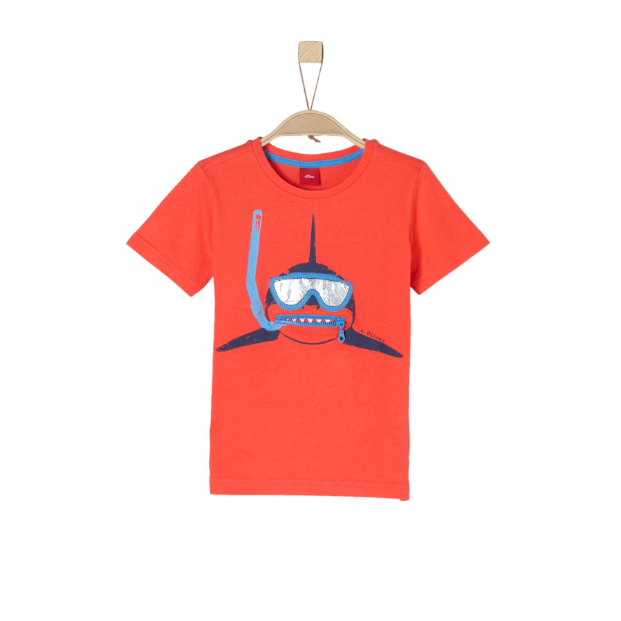 s.Oliver Boys T-Shirt tinto
