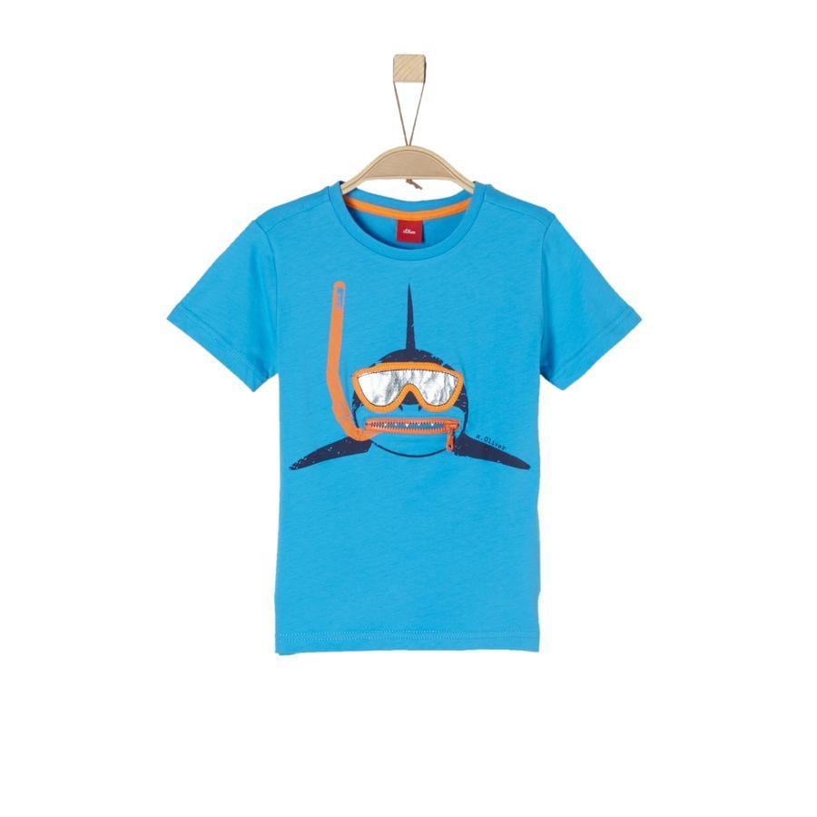 s.Oliver Boys T-Shirt błękit