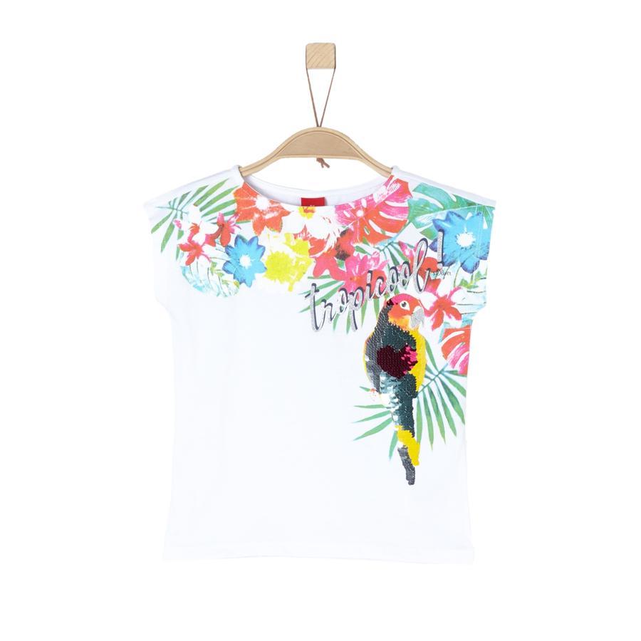s.Oliver Girl s T-Shirt biały
