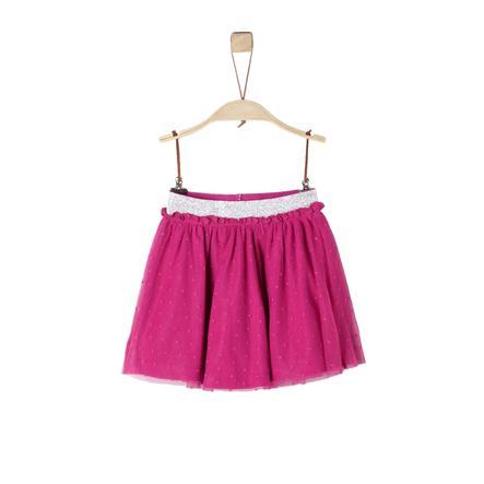 s.Oliver Kjol dark pink