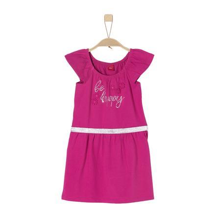 s.Oliver Girls Kleid dark pink