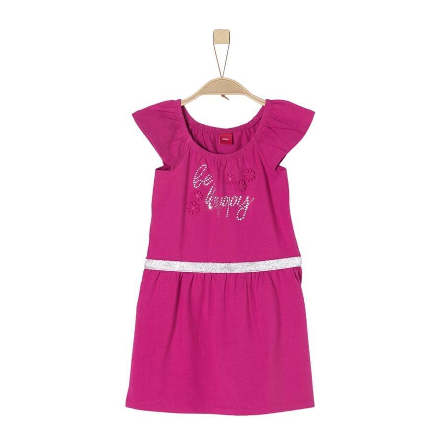s.Oliver Girl s vestido rosa oscuro