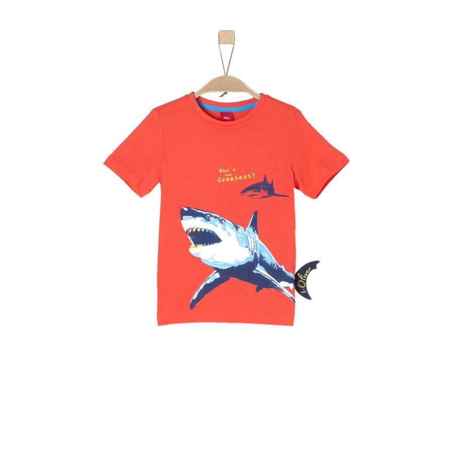 s. Oliver Poikien t-paita punainen