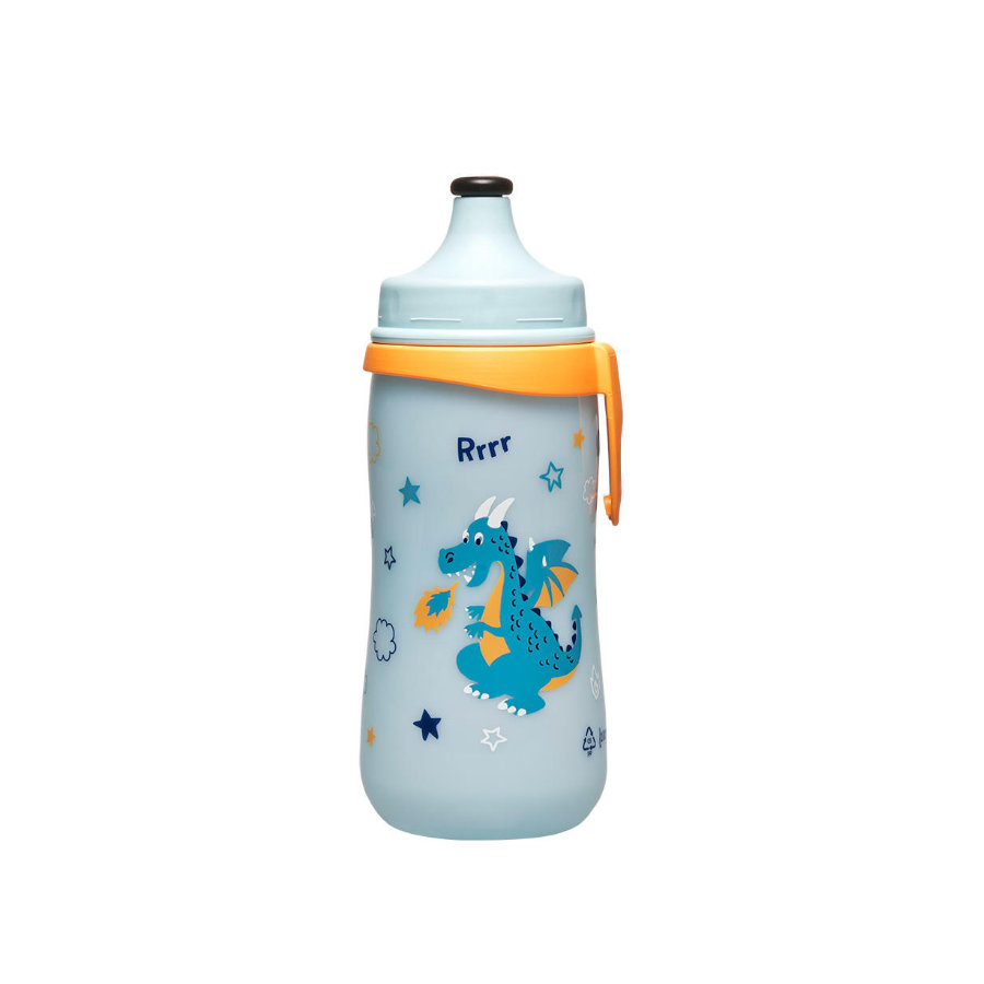 NIP PP Kids Cup Láhev, 330ml Family Boy s Push-Pull pítkem