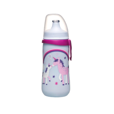 NIP PP Kids Cup Láhev, 330ml Family girl s Push-Pull pítkem