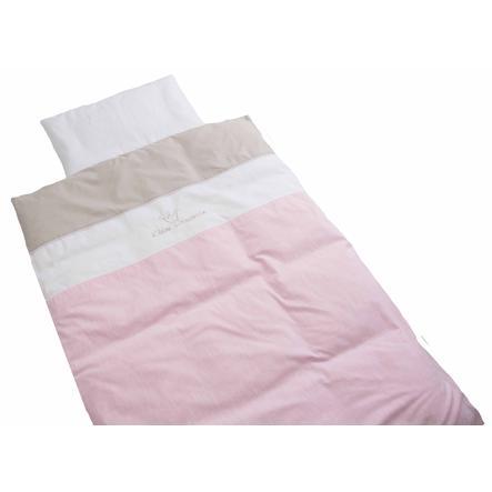 Be Be's Collection Vuodevaatteet prinsessa 100 x 135 cm, vaaleanpunainen