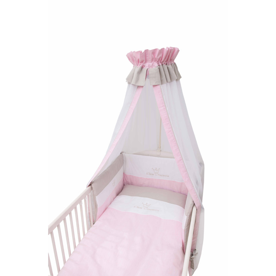 Be Be 's Collection Bett Set 3tlg. Kleine Prinzessin rosa