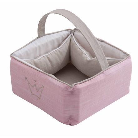 Be Be's Collection Pikkuprinsessan hoitokori vaaleanpunainen