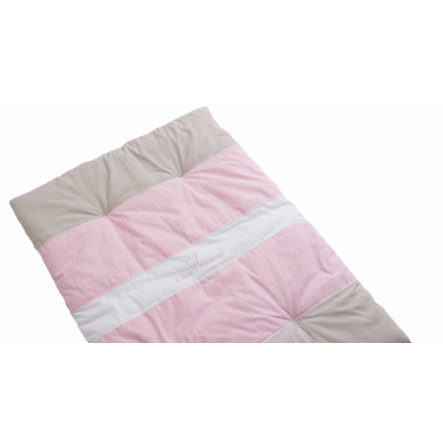 BeBes Collection Couverture d'éveil petite princesse rose 100x135 cm