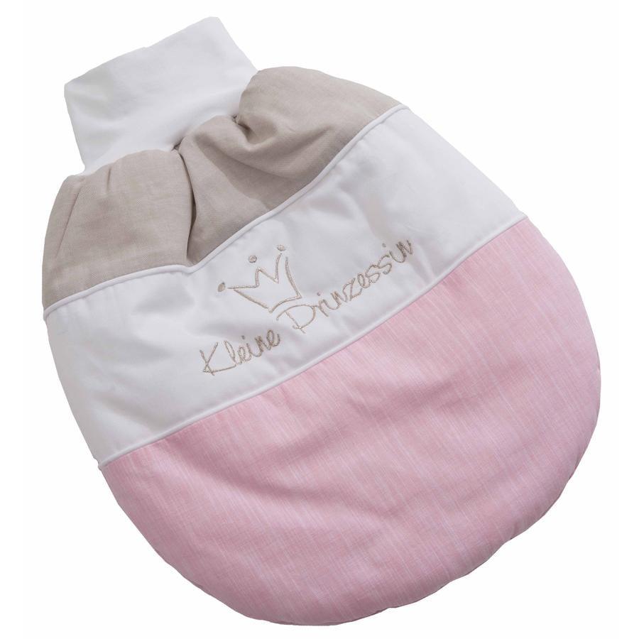 BeBes Collection Demi gigoteuse bébé ouatinée petite princesse rose