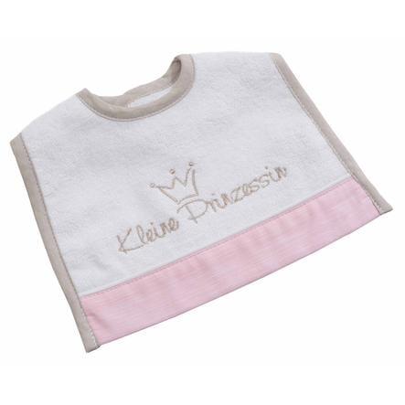 Be Be's Collection Mini suchý zip Bib Little Princess růžová