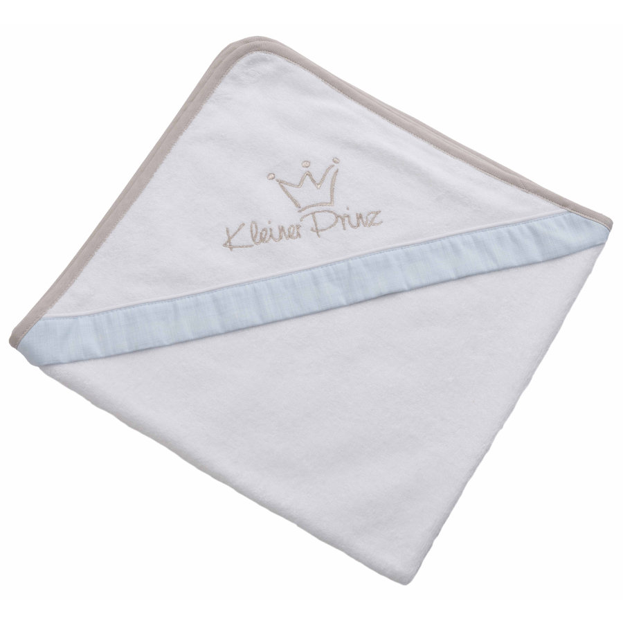 BeBes Collection Serviette bain enfant capuche petit prince 80x80 cm