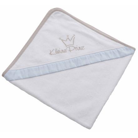 Be Be 's Collection Badehåndklæde med hætte Lille Prins blå 100 x 100 cm