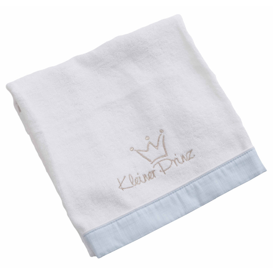 Be Be 's Collection Håndklæde Lille Prins blå 50 x 90 cm