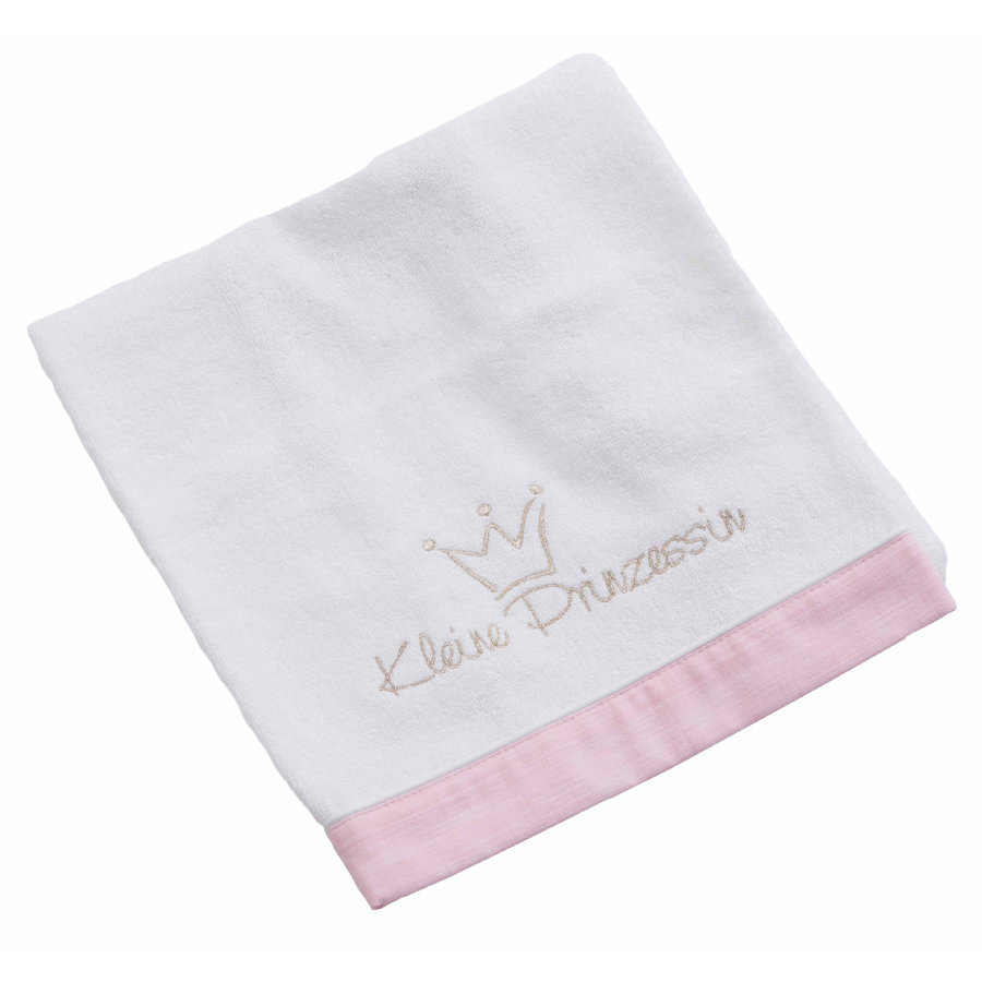 BeBes Collection Serviette de bain petite princesse rose 50 x 90 cm