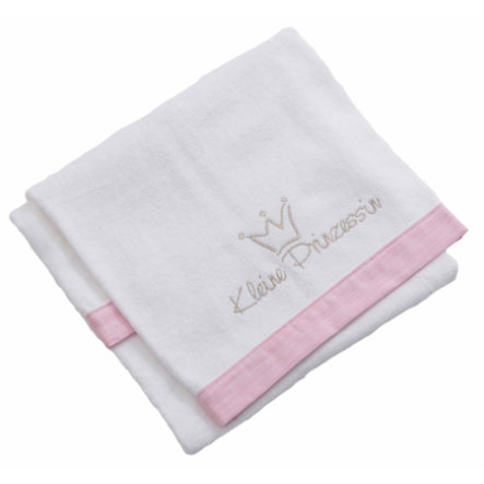 Be 's Collection Towel Little Princess Pink 70 x 120 cm