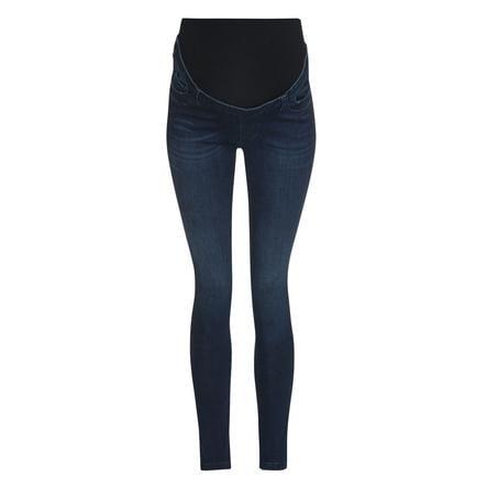 mage jeans, mörkblå denim