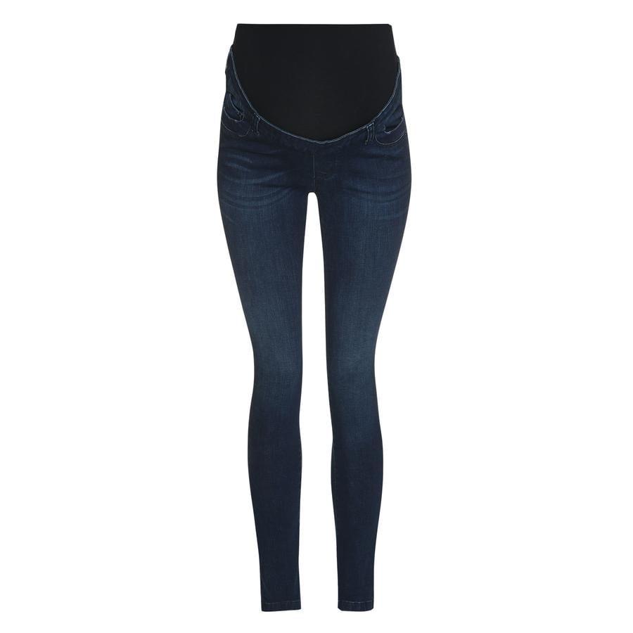 bellybutton  Těhotenské džíny, tmavě modrá džínovina