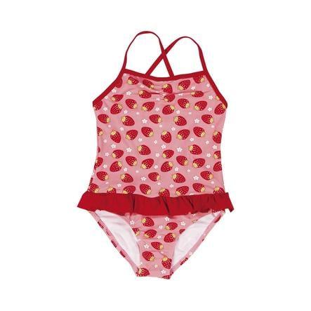 Playshoes Girls UV-Schutz Badeanzug Erdbeere