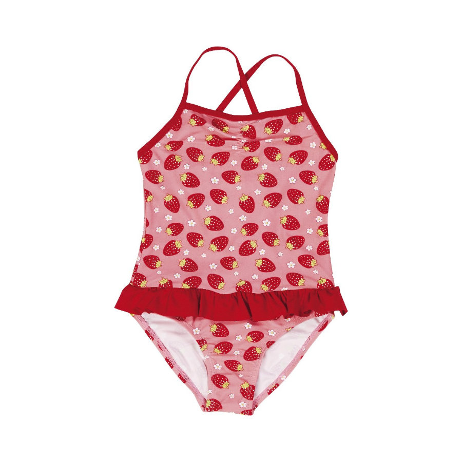 PLAYSHOES Girls Costume Protezione Anti-UV Fragola