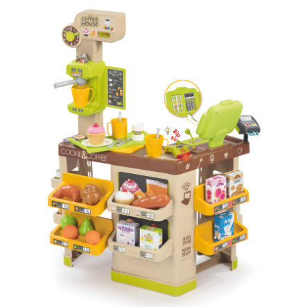 Smoby Marchande enfant coffee house