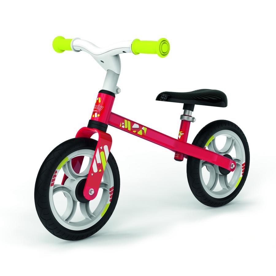 Smoby balanční odrážedlo First Bike červené