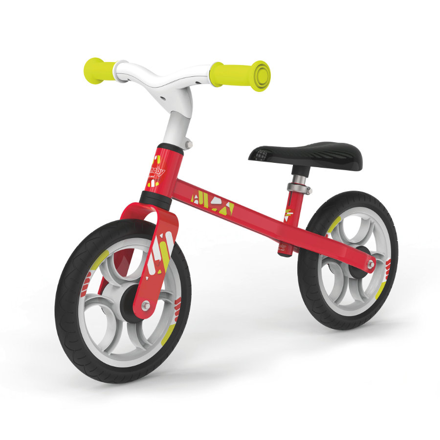 Smoby Springcykel First Bike, röd