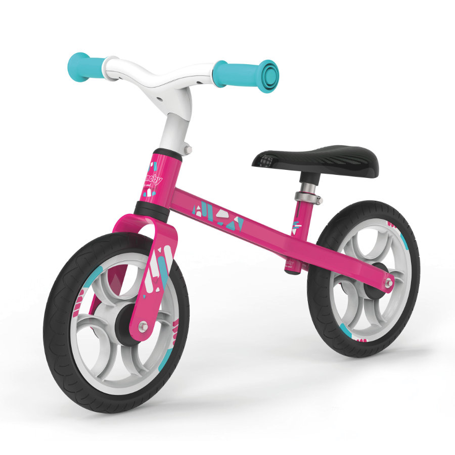 Smoby Draisienne enfant first bike rose