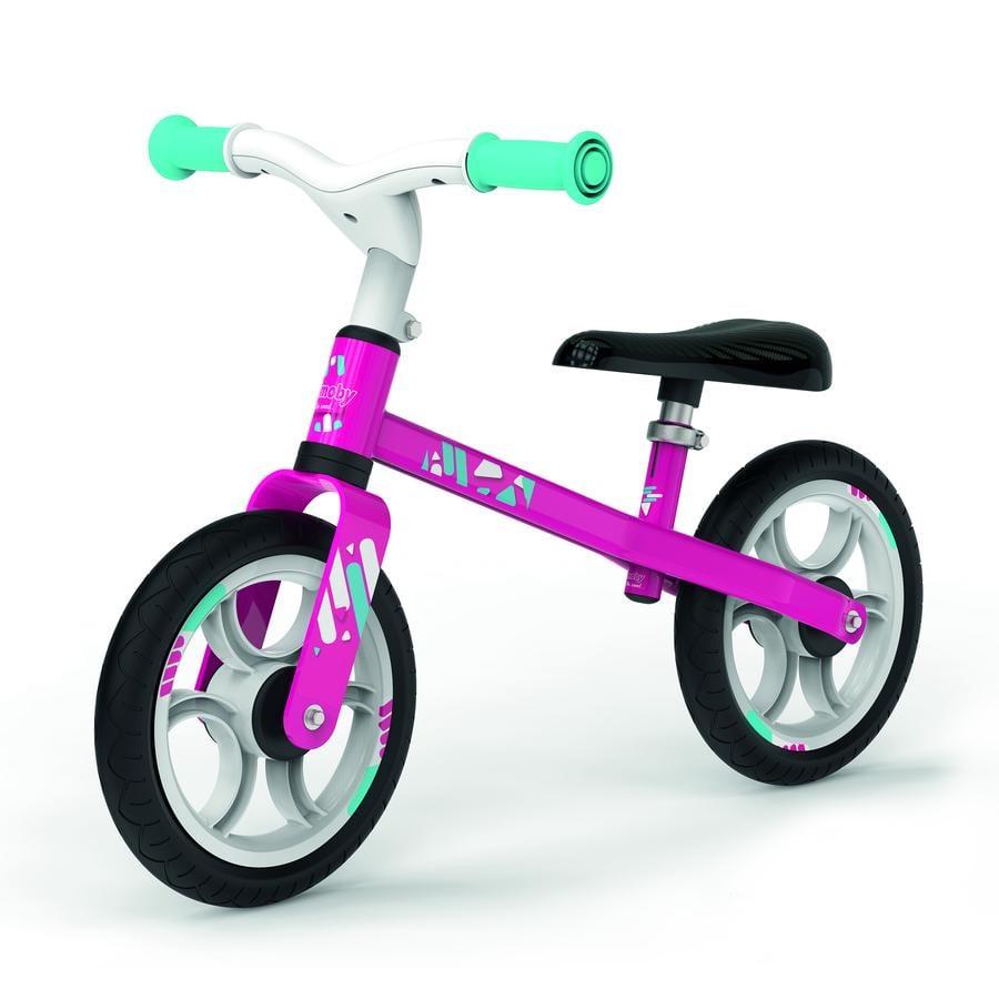 Smoby Rowerek biegowy First Bike, różowy