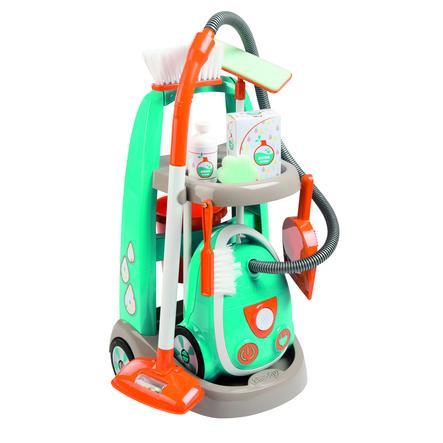 Smoby úklidový vozík s elektronickým vysavačem Vacuum Cleaner s 9 doplňky 330309