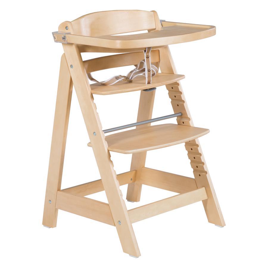 Roba Jídelní židlička Sit Up  Click & Fun , přírodní