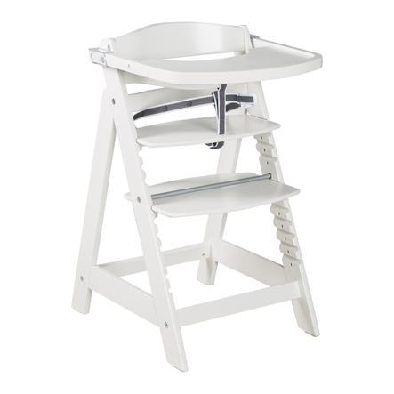 roba Stair syöttötuoli Sit Up Click &   Hauska valkoinen