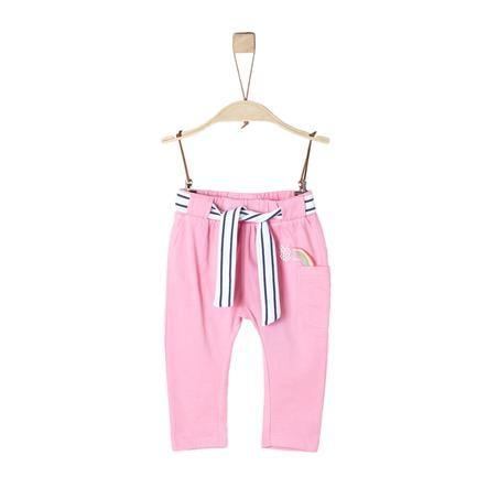 s.Oliver Girl spodnie s jasnoróżowe, jasnoróżowe