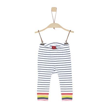 s.Oliver Hose white stripes