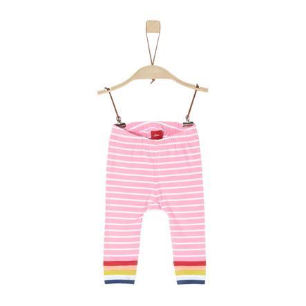 s.Oliver Hose light pink stripes