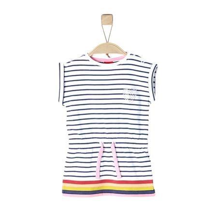 s.Oliver Girls Kleid white stripes