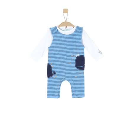 s.Oliver Girls Overall light blue