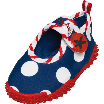 Playshoes Chaussons de bain enfant hippocampe bleu