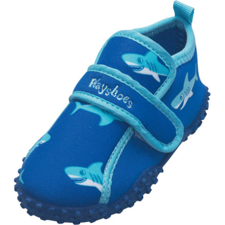 Playshoes Aqua-Schuhe Hai blau