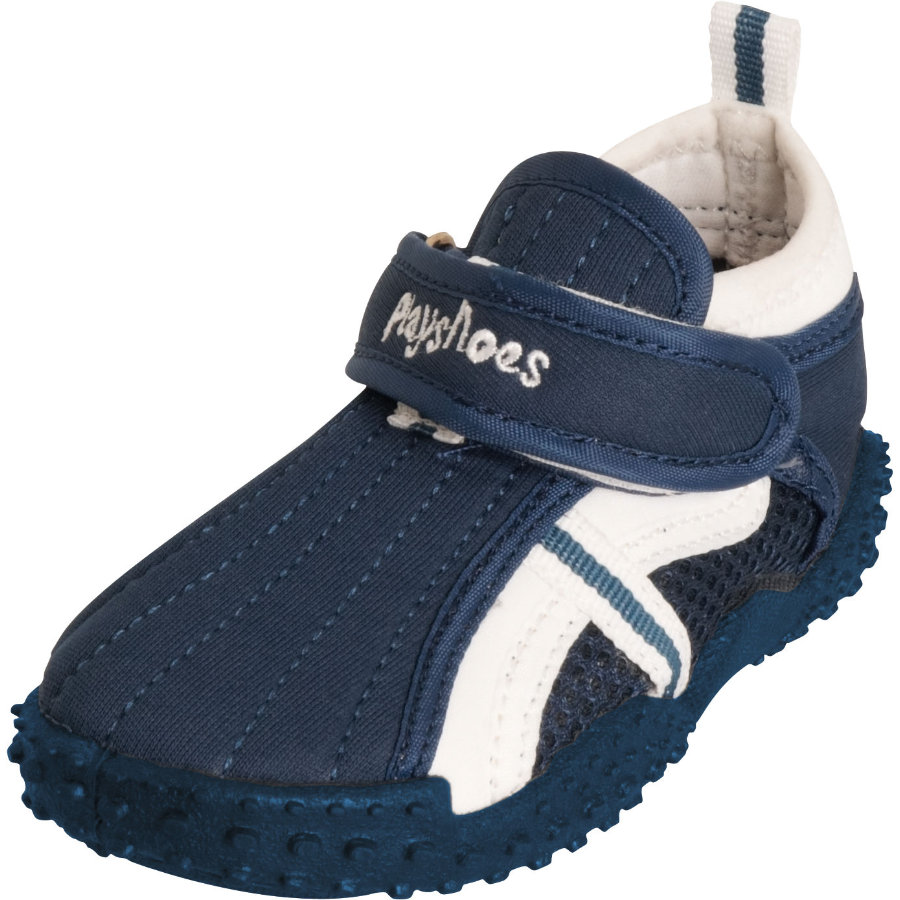 Playshoes Chaussons de bain enfant sport bleu marine