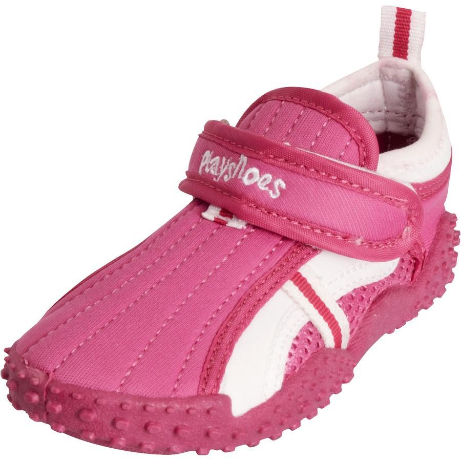 Playshoes Chaussons de bain enfant sport rose