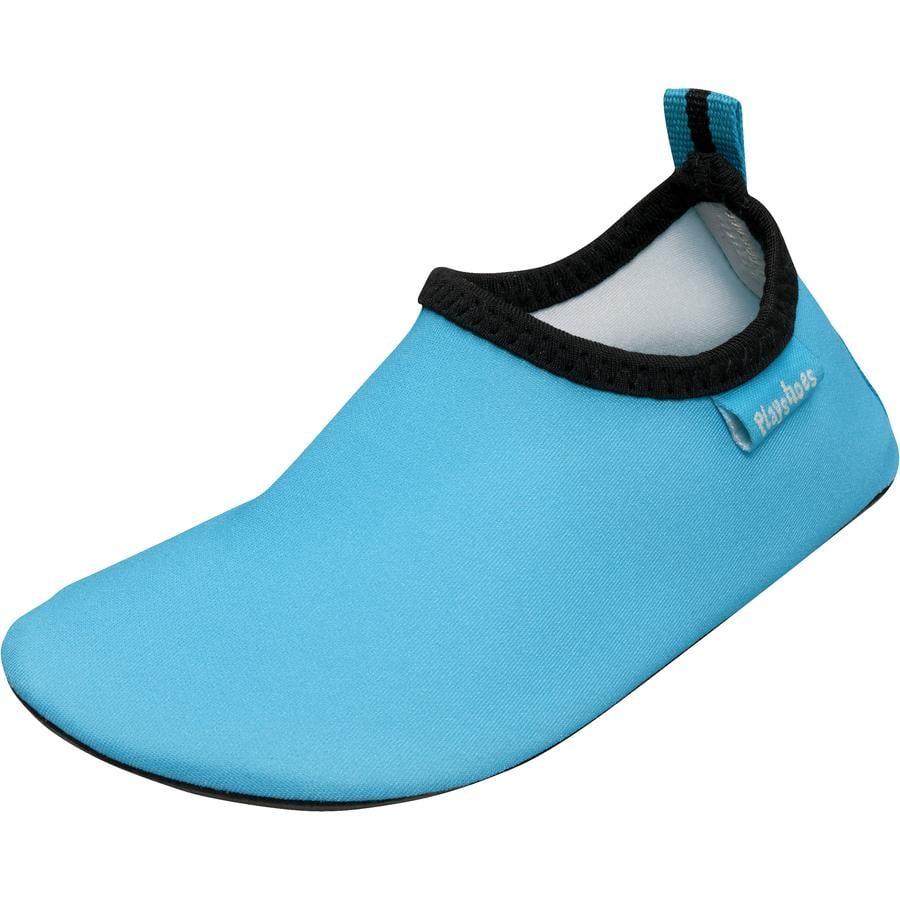 Playshoes Badschoen uni blauw