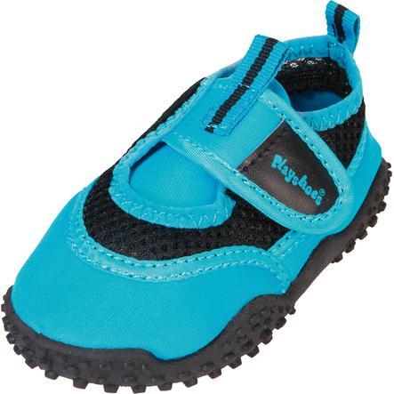 Playshoes Chaussons de bain enfant bleu fluo