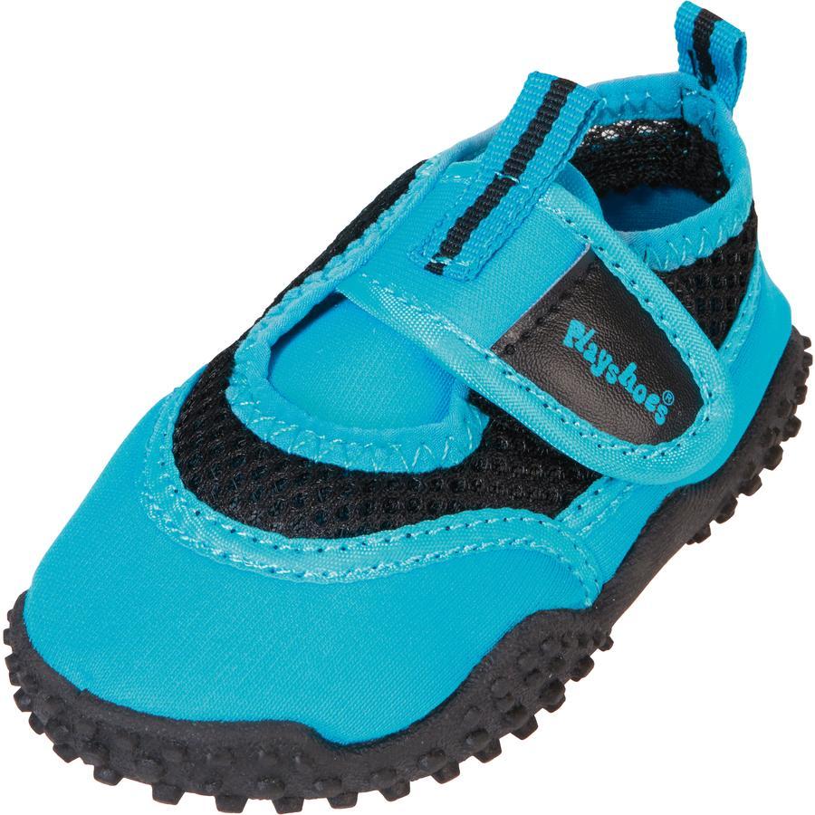 Playshoes Aquaschoen neon blauw