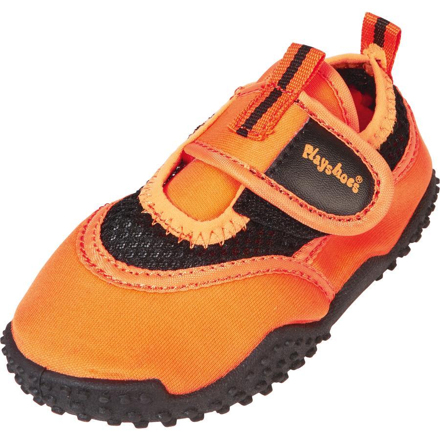 Playshoes Zapatilla Aqua neón naranja