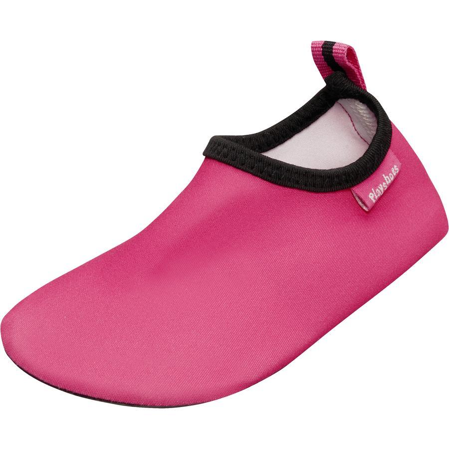 Playshoes Badeschuh uni pink